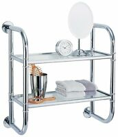 Organize It All 2 Tier Bath Shelf , New, Free Shipping on sale