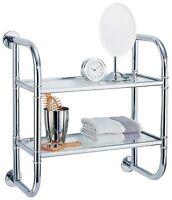 Organize It All 2 Tier Bath Shelf , New, Free Shipping on sale