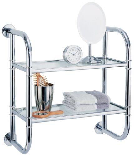 Free Shipping Organize It All 2 Tier Bath Shelf New