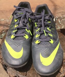NIKE Zoom Rival S 12 TRACK & FIELD Men's RUNNING SHOES 616313-007 Size 12