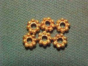 Sasanian  gold bead circa 224-642 AD.