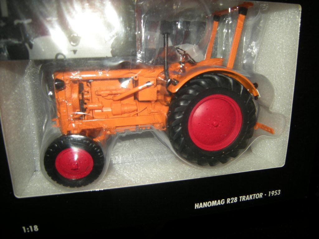 1:18 Minichamps Hanomag r28 tracteur 1953 orange Nº Nº Nº 109153072 in neuf dans sa boîte | Shopping Online  de4f24