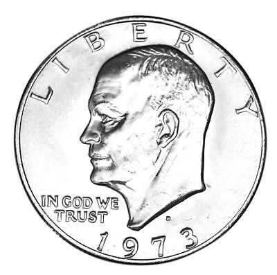 1973 BU Eisenhower Dollar