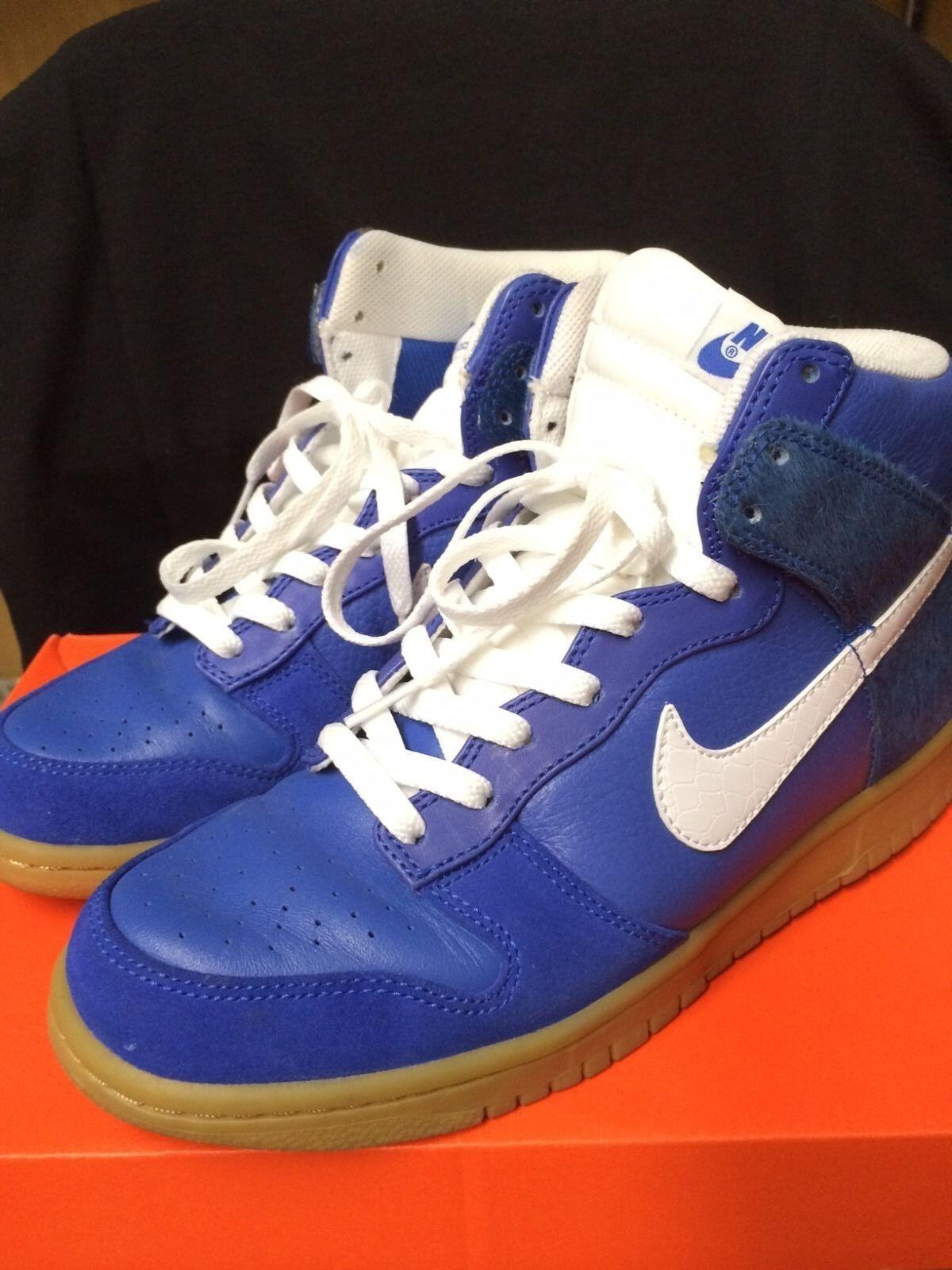 Nike Dunk High Premium 317892 412 Size 8