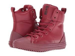 7c3a390f782a Converse All Star Asphalt Boot High Red Block Black (GS) (654315C ...