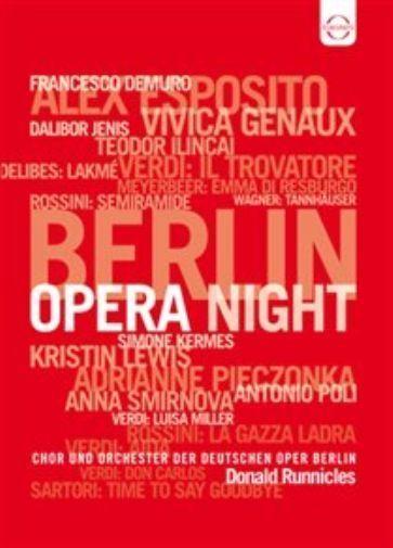 Berlin Opera Night - Gala Concert 2011 (DVD, 2013)