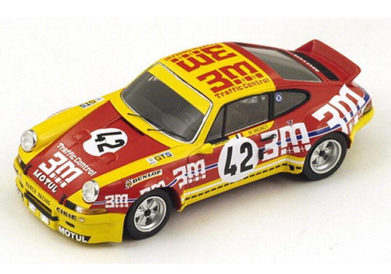 Spark Model 1 43 s3397 Porsche 911 Carrera RSR  3M   42 Le Mans 1973 NEW