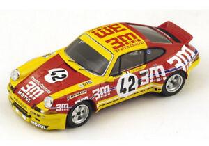 Modèle Spark 1:43 S3397 Porsche 911 Carrera Rsr    # 42 Le Mans 1973 Nouveau  3m