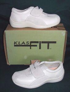 Klasfit Playful Damenschuhe Damenschuhe Damenschuhe Größe 6 Bone Leder Slip Oil Resistant 443bcf