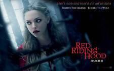 RED RIDING HOOD Movie POSTER 27x40 C Gary Oldman Amanda Seyfried Lukas Haas