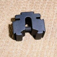 Tri-mount Dovetail Riser Mount .60 Lgth Matte Black For Crosman Metal Breeches