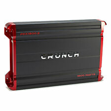 Crunch Powerzone 1800 Watt 2 Channel Car Audio Class A/B MOSFET Power Amplifier
