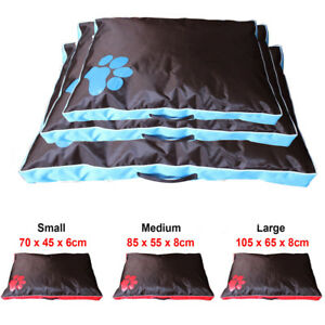 DOUBLE-SIDED-WATERPROOF-DOG-PET-CAT-BED-MAT-CUSHION-MATTRESS-WASHABLE-COVER
