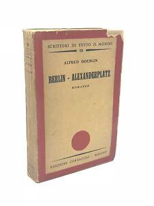 Alfred-Doeblin-BERLIN-ALEXANDERPLATZ-1934-Edizioni-Corbaccio