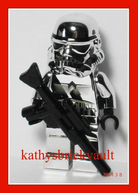 LEGO Star Wars  CHROME STORMTROOPER MINIFIGURE  New Rare Limited Edition Sealed