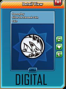 Pokemon TCG ONLINE Zoroark GX SM84 COIN (DIGITAL CARD) GAMEPLAY ITEM