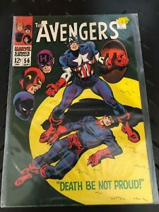 The-Avengers-56-Marvel-Comics-1968-FN-Black-Panther