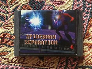 034-Spider-Man-amp-Venom-Separation-Anxiety-034-Sega-Mega-Drive-Genesis-Game-USED