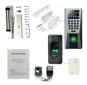 Details about ZK F18 Fingerprint+FR1200 Slave Reader for Pass In and Out  Access Control System