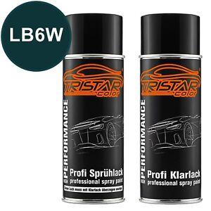 Autolack-Spraydosen-Set-VW-Volkswagen-LB6W-Piniengruen-Metallic