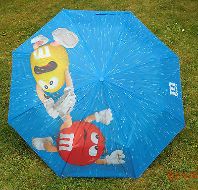 M/&M M/&M/'s m brella Mini Regenschirm  Taschenschirm blau Blue NEU siehe Fotos