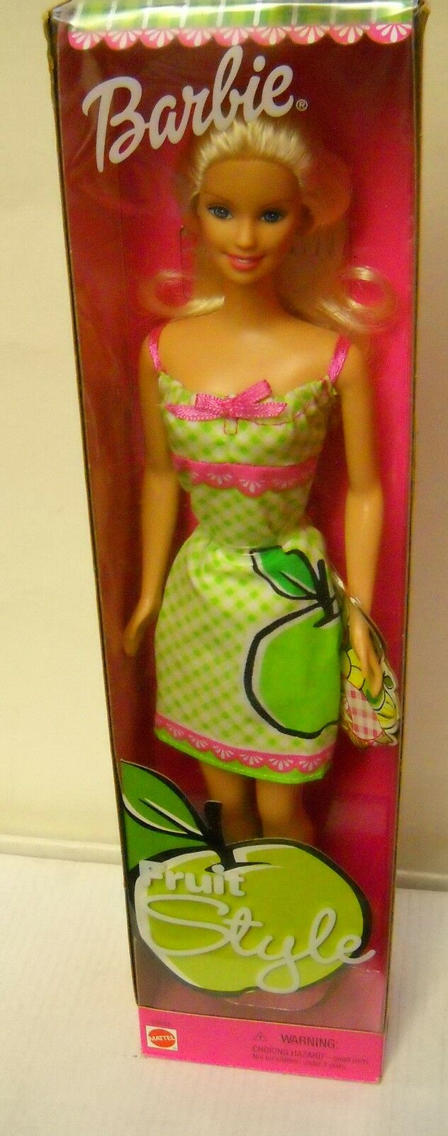 Nunca quitado de la Caja Mattel Japón fruta estilo Apple Barbie problema extranjeros