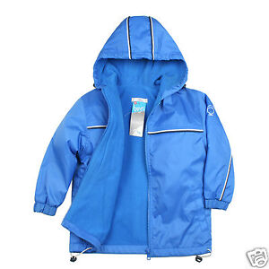 NEW-Baby-Toddler-Kid-Child-Boy-Cozy-Fleece-Jacket-Coat-Hooded-Blue-1-6-Yrs-old