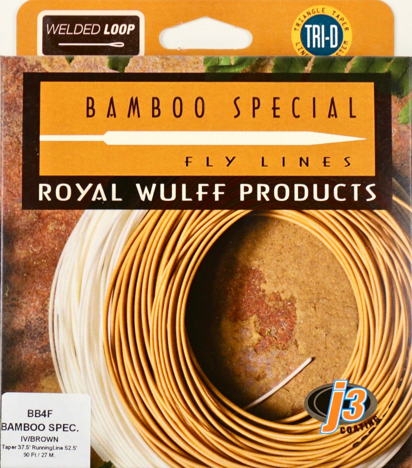 Royal Wulff Bamboo Special 4 WT WT WT Floating Fly Line Ivory Free Fast Ship BBF4 fa008b