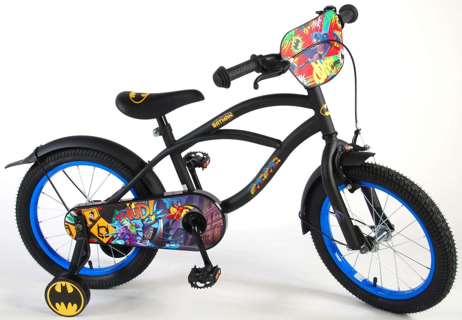 Kinderfahrrad Batman 16 Zoll Jungen Fahrrad Fahrrad Fahrrad mit Rücktrittbremse - 95% montiert 5fc4d3
