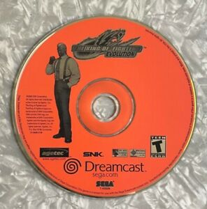 King Of Fighters Evolution SEGA Dreamcast FREE SHIP! *Disc Only No Manual TESTED