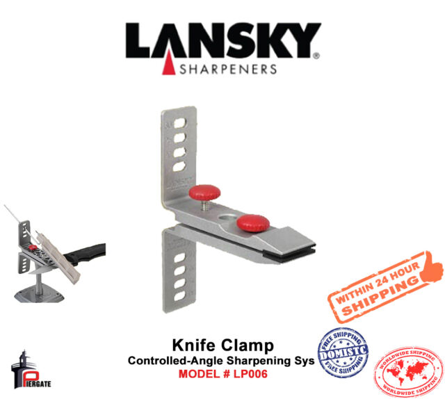 Lansky Multi-Angle Knife Clamp, Controlled-Angle Sharpening Sys Accessory LP006
