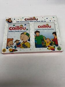 Caillou's Family Favorites DVD & Book Set 25th Anniversary ... Caillou Family Collection Dvd Ebay