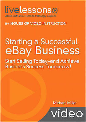 Starting a Successful eBay Business Start Selling Today & Achieve Business Used