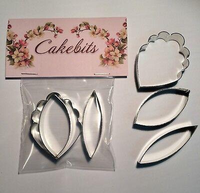 Cattleya Orchid Set medium Cake Decorating Metal