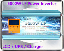 20000W Peak 5000W Low Frequency Pure Sine Wave Power Inverter 12V DC/110VAC 60Hz