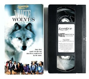 White Wolves - A Cry in the Wild - VHS