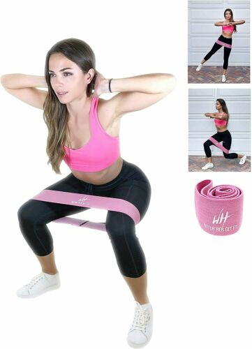 100cm all around PERFECT FOR AT HOME WORKOUTS Fabric Hip resistance band