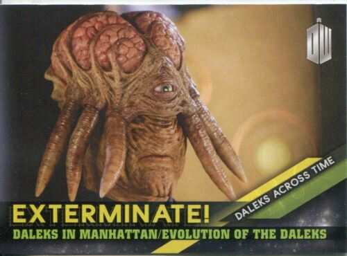 Doctor Who Timeless Daleks Across Time Exterminate Chase Card #6