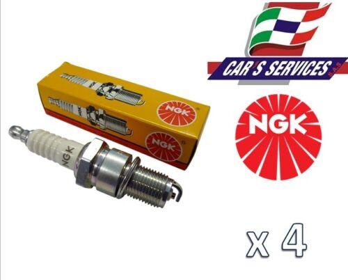 KIT 4 CANDELE NGK ZKR7A-10 PER FIAT PANDA 1.2 BENZINA 51KW CAR/'S SERVICES AUTO