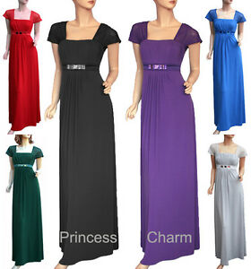 Formal-Evening-Cocktail-Dress-Black-Purple-Blue-Red-Grey-Green-Plus-Size-5XL-S