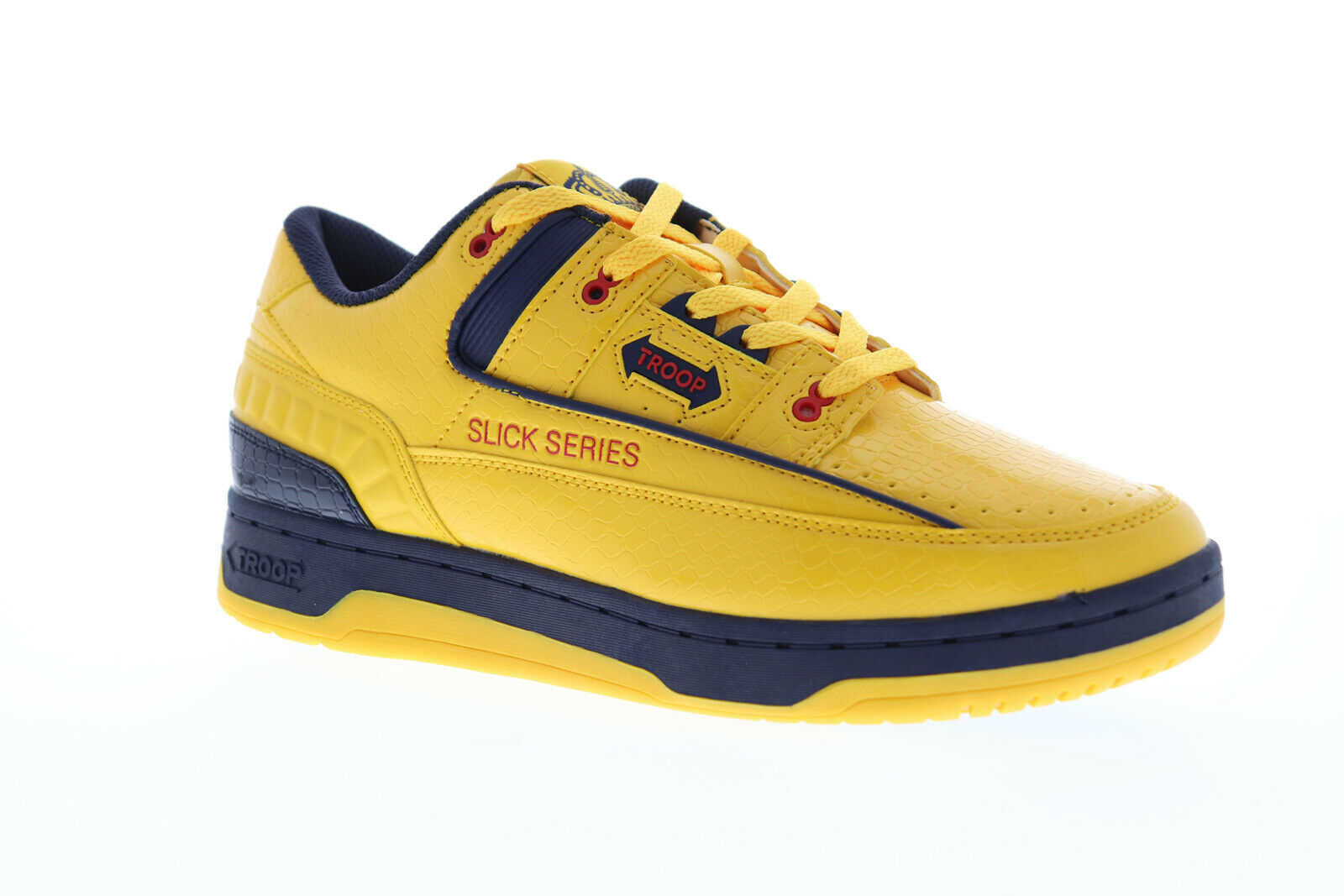 World of Troop Slick Series Homme Jaune Synthétique Low Top baskets Chaussures