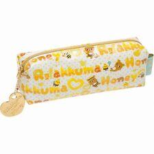 San-x Rilakkuma Honey & Smile Series Pen Pouch (PY27001)