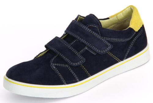 30 /& 32 28 Boys Suede Casual Trainer Shoes Ricosta Birton Navy EU Sizes 25