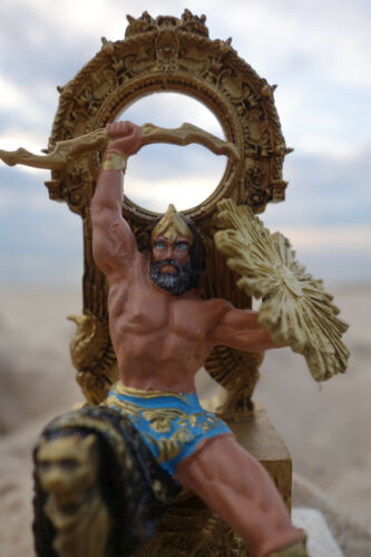 ZEUS JUPITER Göttervater Metall-Figur Götter Sagen Mythos NEU OVP DeAgostini ?