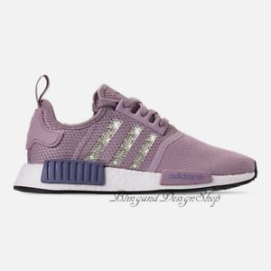 952f9eb82 NWT Women s Bling Adidas NMD R1 Shoe Custom with Swarovski Crystals ...