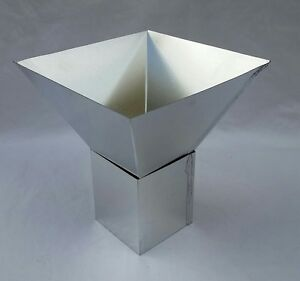 5 x 5 four sided pyramid mold no wick hole not a candle mold ebay