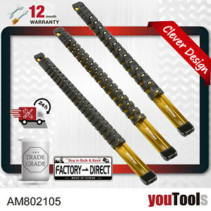 Socket-Organizer-54-Clips-1-4-3-8-1-2-3-Aluminum-Rails-Gold-Anodised-Lightweigh