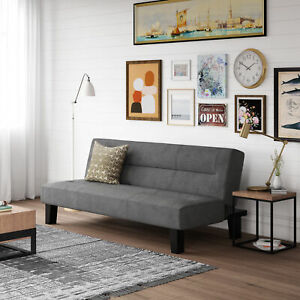 Details About Futon Sofa Bed Couch Mattress Home Bedroom Dorm Apartment Convertible Furniture