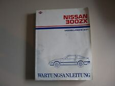 Werkstattbuch Werkstatthandbuch Nissan 300ZX (Z31)