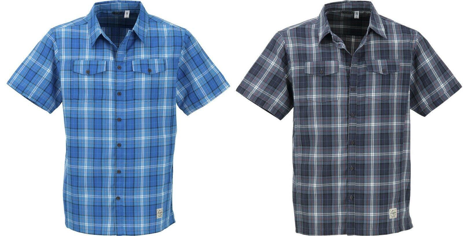 Icepeak Saul señores manga corta Camisa de projoección  ultrapúrpuraa 30+ a 58 antibacteriano PVP a partir de 49,95  minoristas en línea